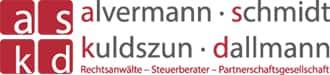 logo der kanzlei alverman schmidt kuldszun dallmann